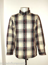 BEN SHERMAN SHIRT HEAVY MA00662 FLANNEL SIZE XS S M L XL REGULAR FIT WINTER