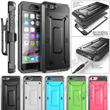 Full-body Holster Built-in Screen Protector Belt Clip Case For iPhone 6 7 8 Plus