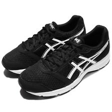 Asics Patriot 8 Black White Men Running Shoes Sneakers Trainers T619N-9001
