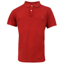 Timberland Earthkeepers Short Sleeve Mens Vintage Polo Shirt Red 4644J 613 R11