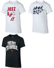 Brand New Nike Boys' Graphic Print T-Shirt Sizes S, M, L, and XL