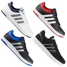 Adidas Hoops Low Vs Men's Sneakers Shoes Black White Skate Shoes Trainers