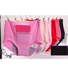 1pc New Women Soft Seamless Panties Breathable Solid High-rise Briefs