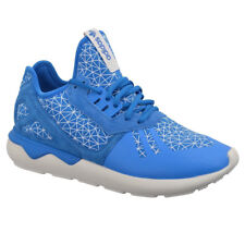 ADIDAS TUBULAR RUNNER SHOES MEN'S SNEAKERS BLUE TRAINERS NEW Doom x Shadow