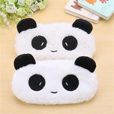 Case Soft Plush Cartoon Animal Pencil Pen Makeup Cosmetic Pouch Bag Zipper 1PCS