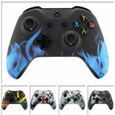 Soft Touch Pattern Mod Faceplate Shell for Microsoft Xbox One S One X Controller