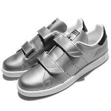 adidas Originals Fast Stan Smith Silver White Mens Casual Shoes Sneakers S76661