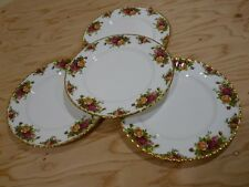 Royal Albert Old Country Roses 1962  Dinner Plates Lot of 4