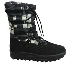 Puma Cimomonte II Nylon Black Toggle Up Womens GoreTex Boots 303854 02 P6