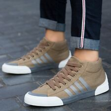 Young Casual Sport Leisure Flats Canvas Lace Up Fashion Comfy Ankle Shoes X8