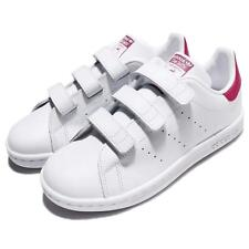 adidas Originals Stan Smith CF C White Pink Leather Kid Youth Casual Shoe B32706