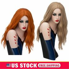 Womens Lady Wigs Cosplay Long Hair Synthetic Wavy Lolita Curly Full Wig US STOCK