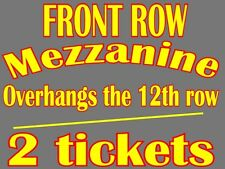 2 tickets Something Rotten 12/19 Tuesday 8pm Ahmanson Theater LA FRONT ROW MEZZ