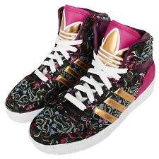 adidas Originals M Attitude W Floral Black Gold Womens Casual Shoes B35344