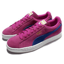 Puma Suede Classic Wns Blue Purple Suede Women Casual Shoes Sneakers 355462-44