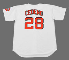 CESAR CEDENO Houston Astros 1971 Majestic Cooperstown Home Baseball Jersey