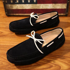 Genuine Suede 2017 Non-Slip Fashion Mens Leisure Loafer  Moccasins Driving Shoes