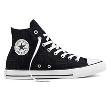 Converse Chuck Taylor All Star Hi Black Womens Canvas Low Top Trainers