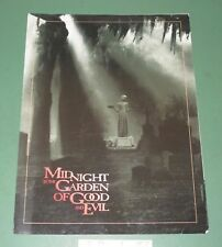 Midnight in the Garden of Good & Evil Premiere Ticket & Program Savannah GA 1997