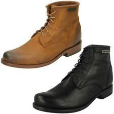 Mens Harley Davidson Lace Up Ankle Boots - Label Tarrson ~ N