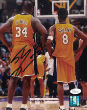 SHAQUILLE SHAQ ONEAL AUTOGRAPHED/SIGNED LOS ANGELES LAKERS 8X10 PHOTO 20856 JSA
