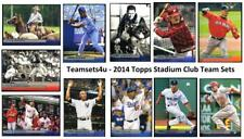 2014 Topps Stadium Club Baseball Set ** Pick Your Team **