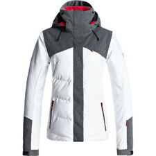 Roxy Flicker Womens Jacket Snowboard - Bright White All Sizes