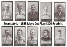 1888 Mayo Cut Plug N300 Reprints Baseball Set ** Pick Your Team **