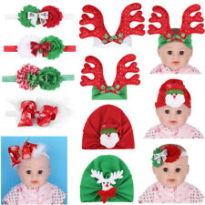 Baby Kids Girl Boy Christmas Headband Gift Hair Band Xmas Santa Accessories Lots