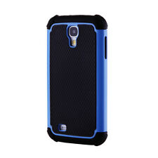 NEW Defender Case for Samsung Galaxy S4 - Black and Blue Galaxy S4 Cases