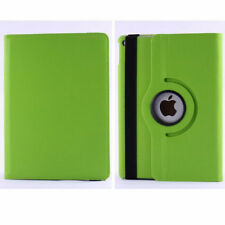 Green Apple iPad Air 2 Smart 360 Rotating Leather Stand Case Cover