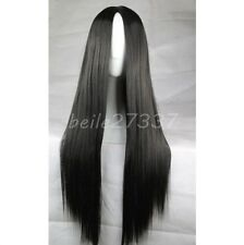 New Laies Long Straight No Bangs Wigs Fashion Full Costume Cosplay Party Wig.
