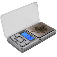 0.1g-500g/300g Digital Pocket Weighing Mini Scales Gold Kitchen Jewellery Herb