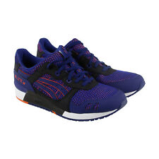 Asics Gel-Lyte III Mens Blue Leather & Textile Athletic Lace Up Running Shoes