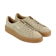Puma Mens Fenty by Rihanna Tan Suede Creepers 36217804 Sneakers Shoes