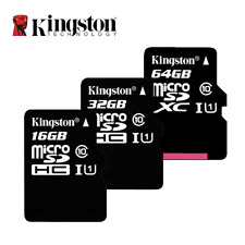 Kingston Class 10 Micro SD Card 16GB MicroSDHC Memory Card