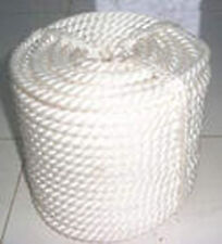 """1/2""""x250' Twisted 3 Strand Nylon Rope with Thimble"""