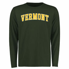 Vermont Catamounts Green Everyday Long Sleeve T-Shirt - College