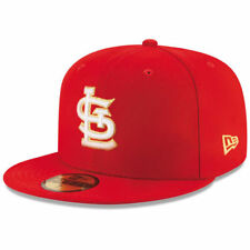 New Era St. Louis Cardinals Red Finest 59FIFTY Fitted Hat - MLB