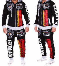 Germany Mens Jogging Suit Jacket Sports Pants Fitness Hoodie Pants S-3XL