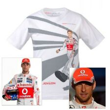 T-SHIRT CAP Kids Formula One 1 McLaren Mercedes F1 Team J.Button Cartoon AUS