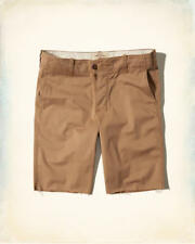 NWT Hollister by Abercrombie Men's Hollister Cali Longboard Fit Shorts Khaki
