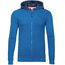 Puma Ferrari Shiled logo Hooded Mens Blue Zip Up Sweat Jacket 567084 04 UA104