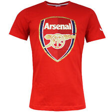 Puma Arsenal FC Fan Crest Cotton Mens cotton Tee Red T-Shirt 746480 01 UA104
