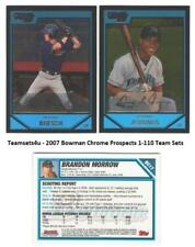 2007 Bowman Chrome Prospects (1-110) Baseball Set ** Pick Your Team **