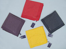 NEW Ralph Lauren Purple Label Silk Pocket Square!  *Made in Italy*  *3 Colors*