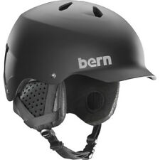 Bern Watts Mips Mens Helmet Ski - Matte Black ~ Liner All Sizes