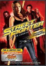 Street Fighter: The Legend of Chun-Li (DVD, 2009, 2-Disc Set, Rated/Unrated)