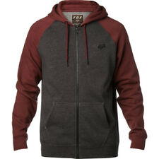 Fox Racing Legacy Mens Hoody Zip - Charcoal Heather All Sizes