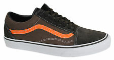 Vans Off The Wall Old Skool Lace Up Suede Canvas Unisex Trainers VOKDZG Vans C